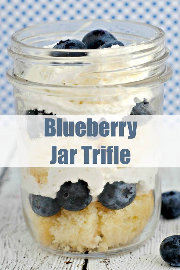 blueberry jar trifle