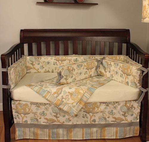 Custom crib bedding planning for your baby's nursery