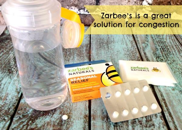 Zarbees Naturals Zarbee's Naturals for Seasonal Congestion Relief