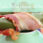 Lil Smokie Stuffed Jalapenos with Bacon