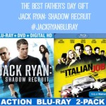 Jack Ryan: Shadow Recruit exclusive Walmart Blue-Ray DVD the best Father's Day gift