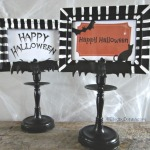 diy Halloween frames - easy Halloween craft ideas