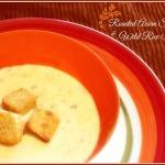 Roasted acorn squash & wild rice soup recipe