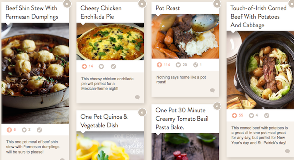 Foodie One Pot Meal Collection Img one pot comfort meals
