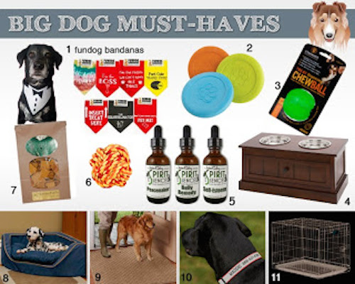 big dogs must haves Holiday Gift Ideas for Big Dogs