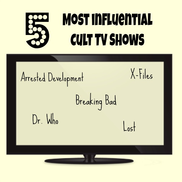 5 most influential cult tv shows Five most influential cult tv shows