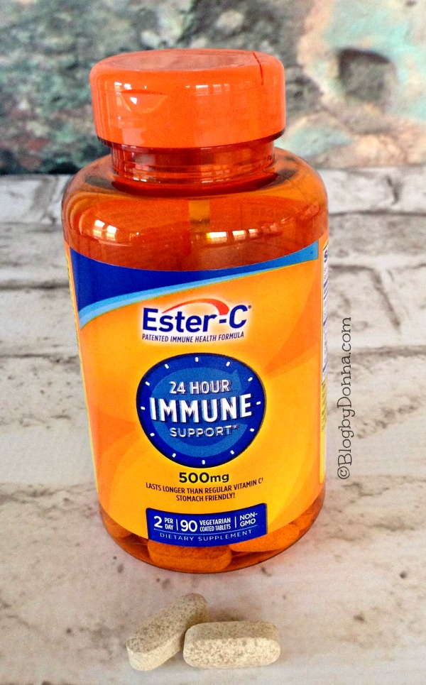 Vitamin C and immune support with Ester C #24HourEsterC #CollectiveBias