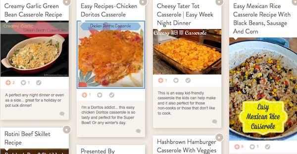 Casserole Recipes foodie mode casseroles