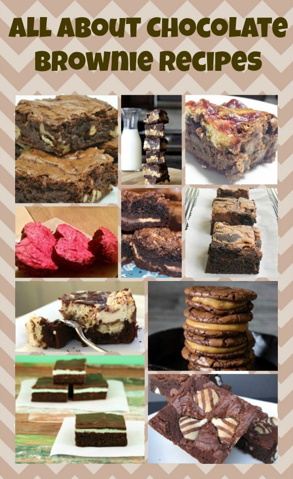 All About Chocolate Brownies brownie recipes
