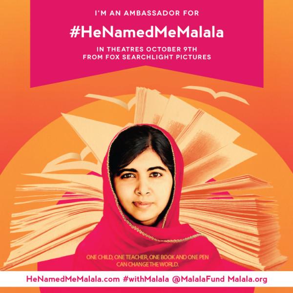 Malala ambassador Malala