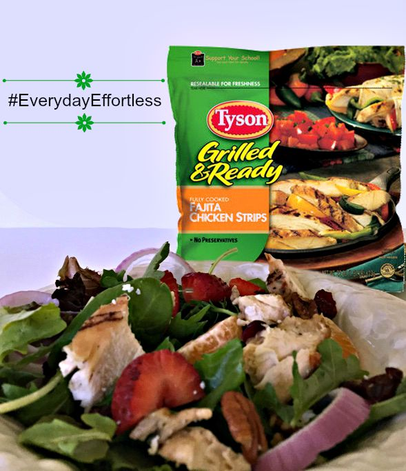 Tyson Grilled and Ready Breast Strips Chicken Salad 3 grilled chicken salad
