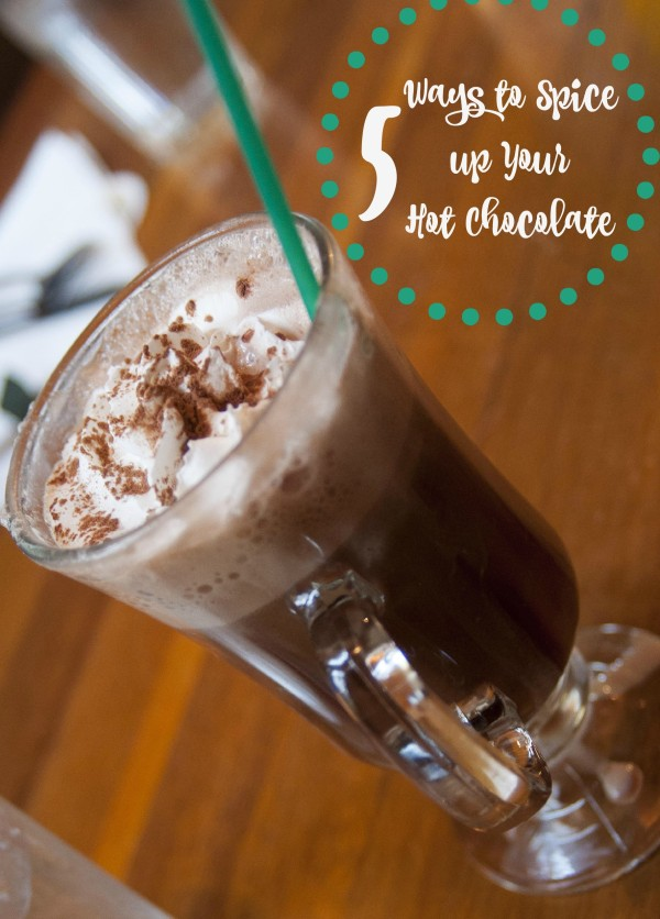 5 ways to spice up hot cocoa
