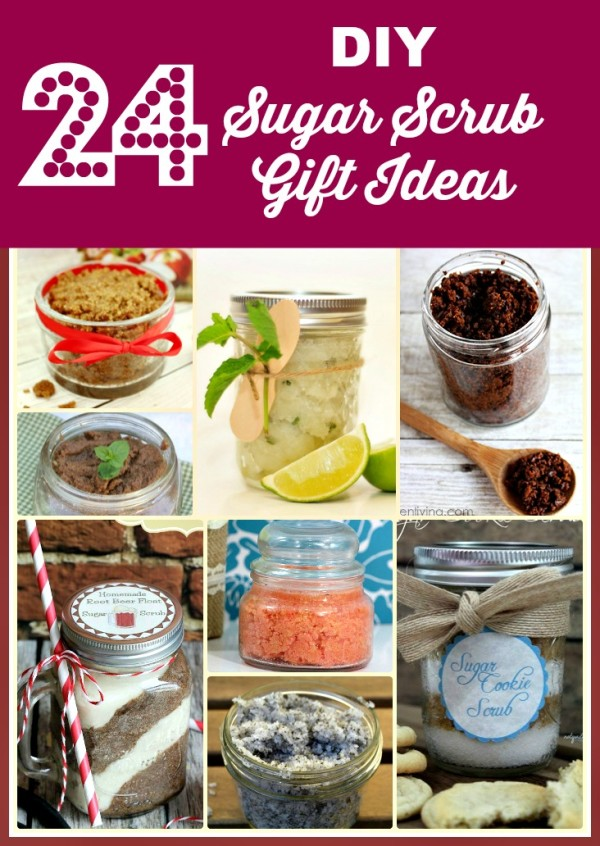 24 DIY Sugar Scrub Gift Ideas