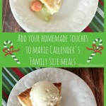 Marie Callender's chicken pot pie #homemadetouches