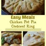 Chicken pot pie crescent rings for easy meals