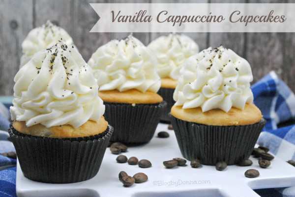 Vanilla Cappuccino Cupcakes for Easter
