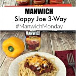 Make it a #ManwichMonday #NationalSloppyJoeDay