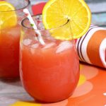 Non-Alcoholic Orange Sizzle drink recipe for a summer cookout...