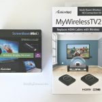 Actiontec MyWirelessTV 2 and ScreenBeam Mini2