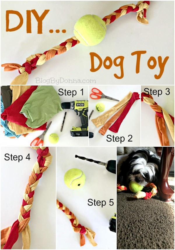 DIY Dog Toy Tutorial treats