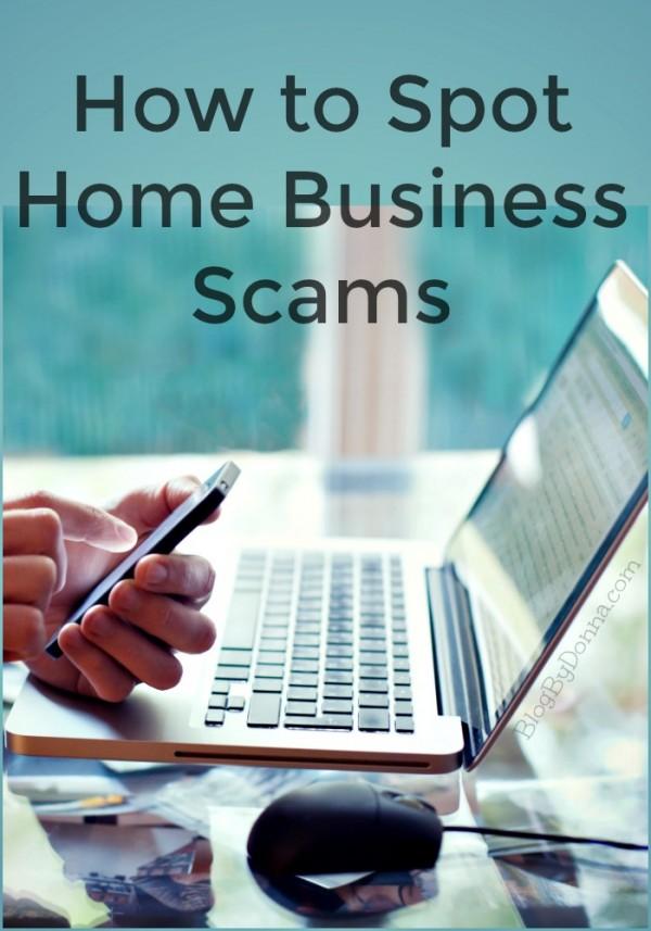 How to spot home business scams...