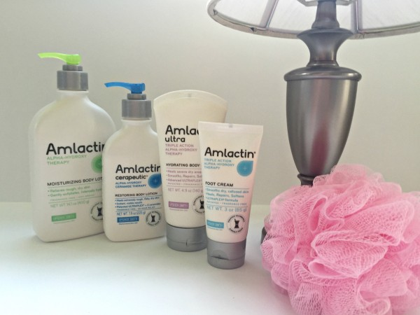AmLactin moisturizers for extremely dry skin and for KP.