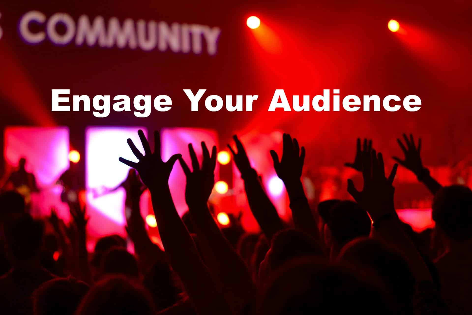 Grow your audience. Engage your audience