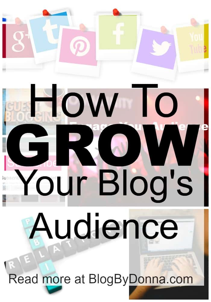 How to grow your blog's audience...