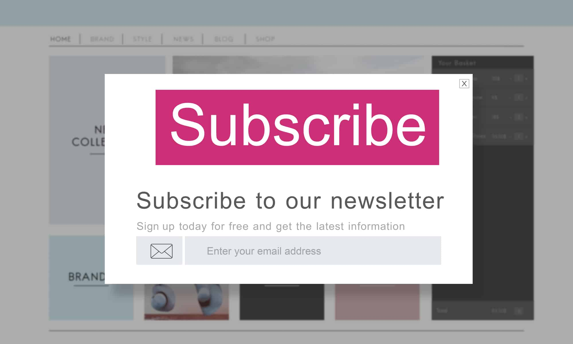 Grow your blog's audience by getting subscribers to your newsletter