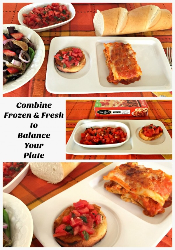 balance your plate with help from stouffer's  blog