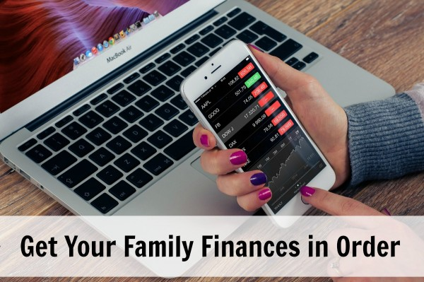 Get your family finances in order
