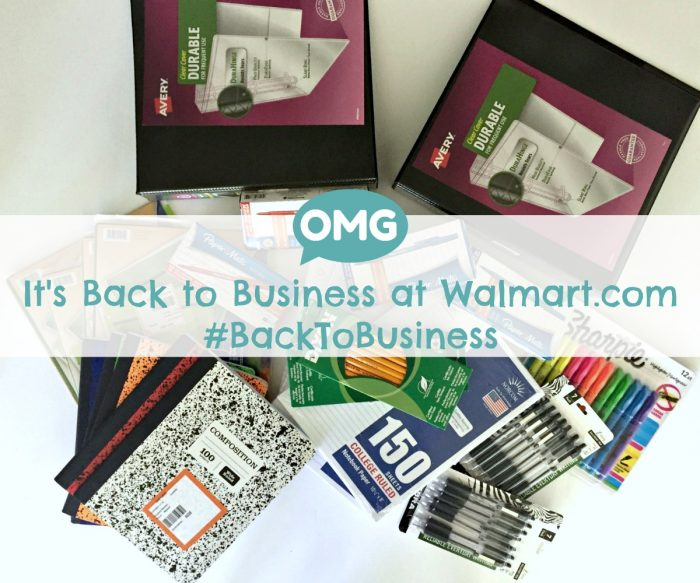 Tips to calm high school anxiety with Back to School at walmart.com #BackToBusiness