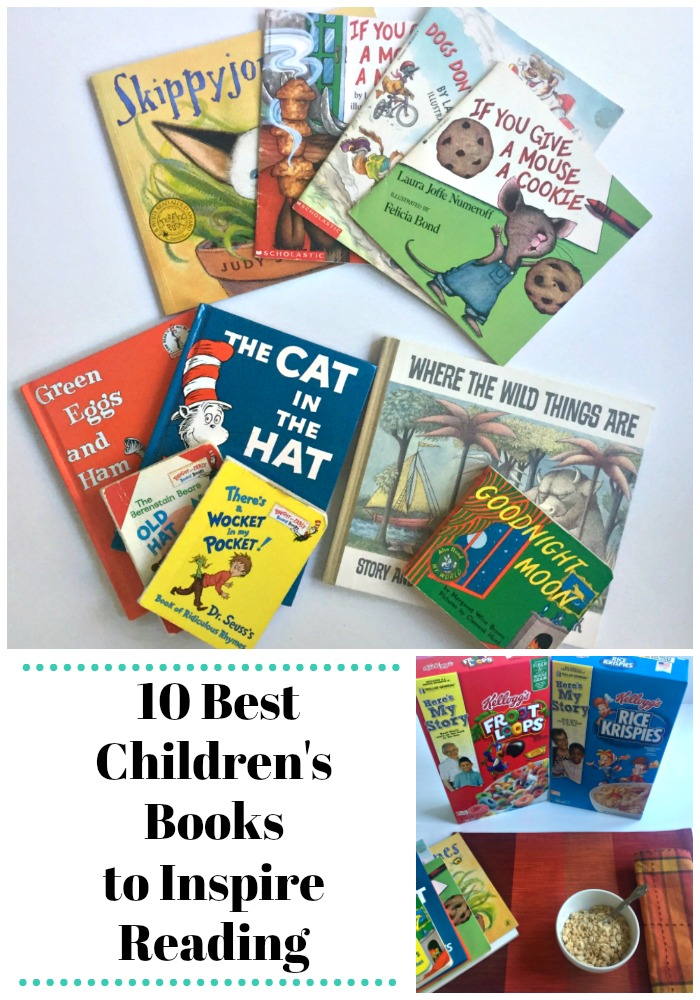10 best children's children's books to inspire reading