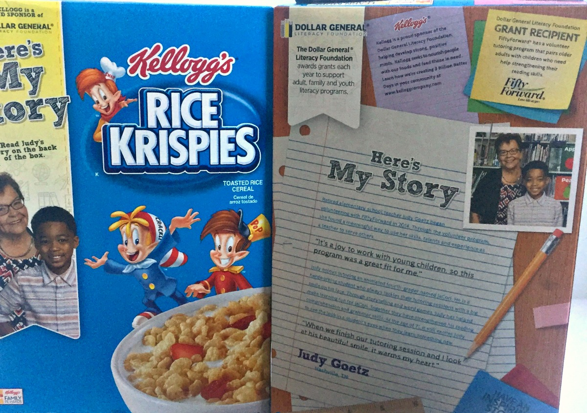 Favorite children's books Dollar General Kellogg's Literacy iniative