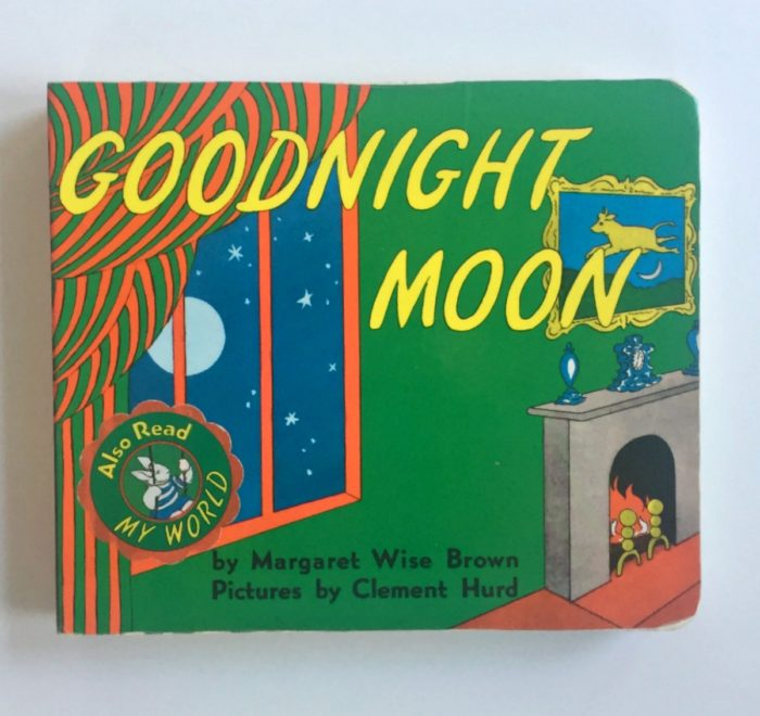 My son's favorite children's book, Goodnight Moon