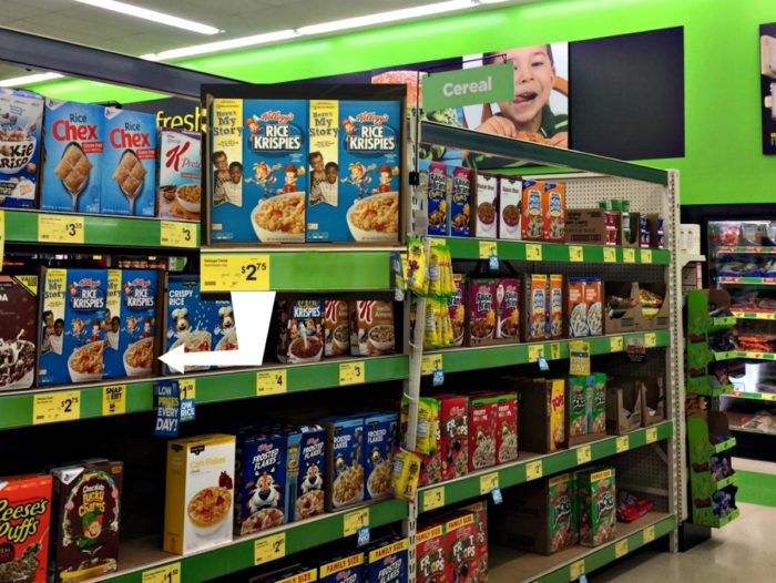 Favorite children's books, Kellogg's cereal at Dollar General for Literacy Initiative