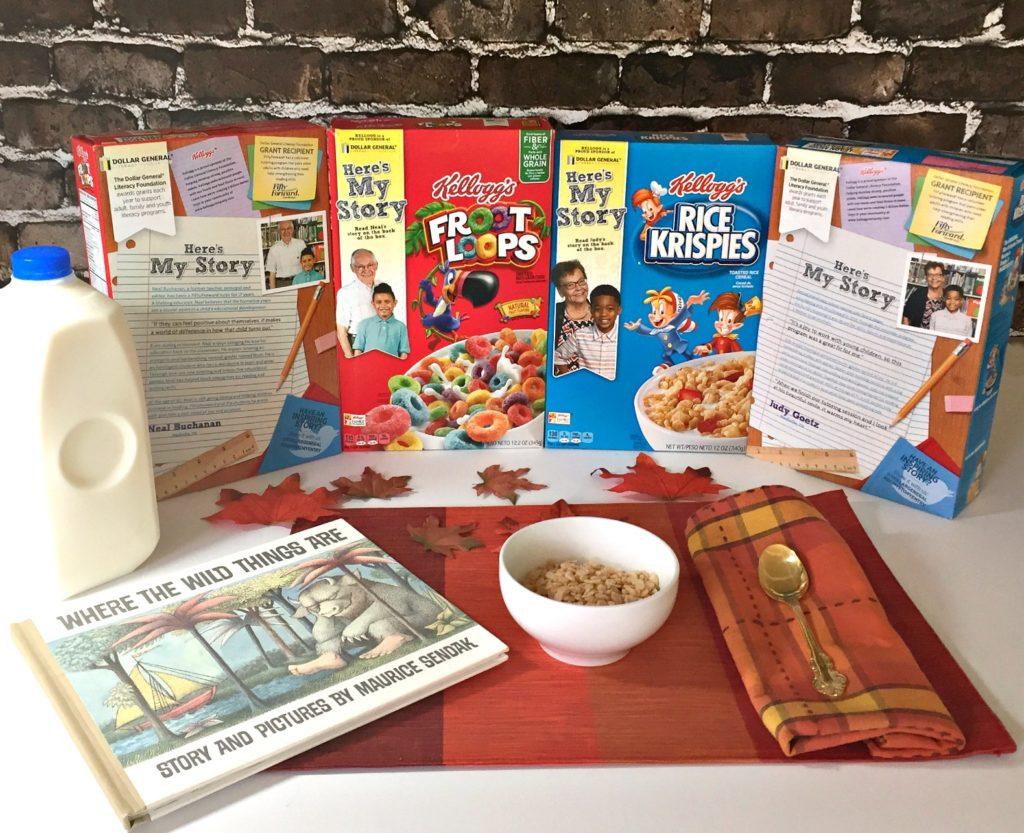 Kellogg Literacy Shoppable Image BlogByDonna children's books