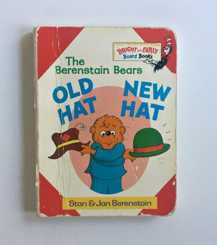 My son's favorite children's book, Old Hat New Hat