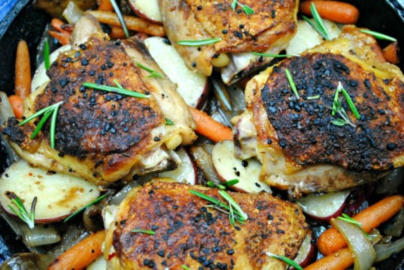 rosemary sea salt chicken