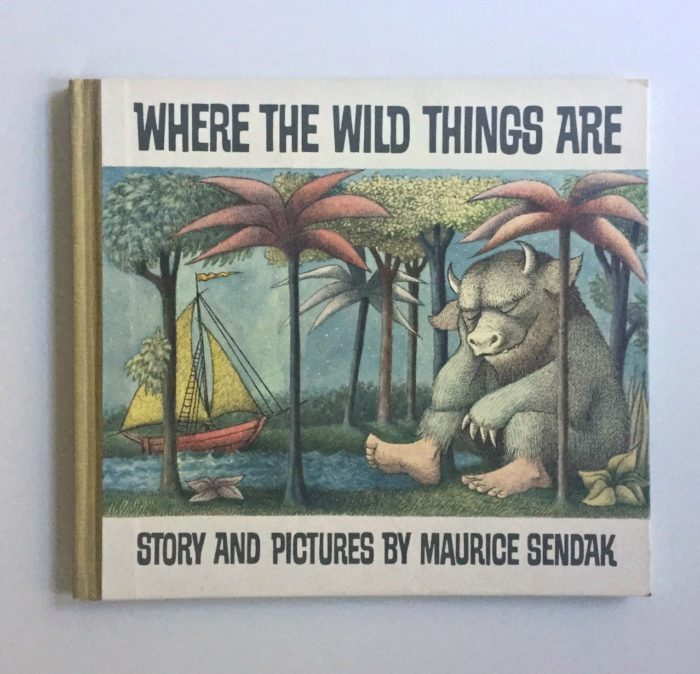 My son's favorite children's book, Where The Wild Ones Are