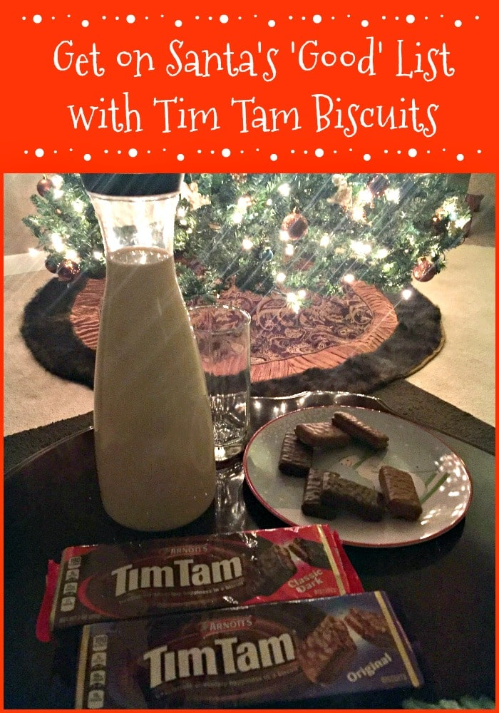 Arnott's Tim Tam Biscuits Buy 2 for $5 at Publix for the holidays for Santa