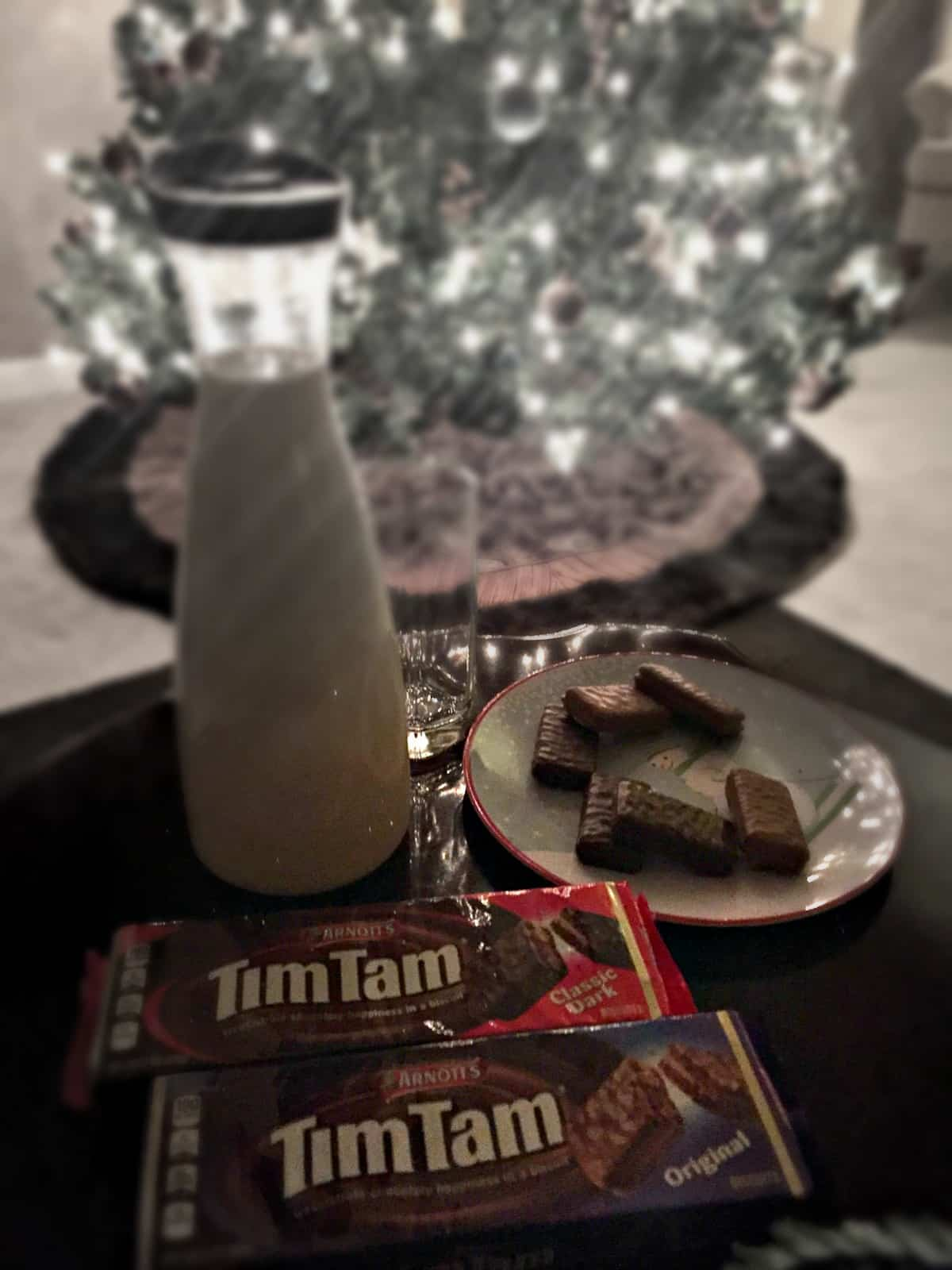 Tim Tam 2 for $5 at Publix to leave out for Santa Claus