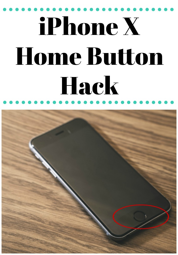 Missing the home button from the new iPhone X? This home button hack will help...