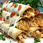 Chicken Salsa Taquitos recipe freeze ahead meal planning