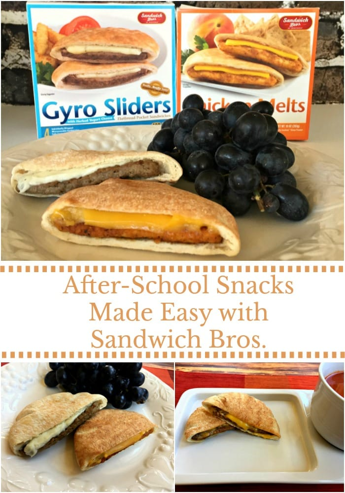 After-School Snacks made easy with Sandwich Bros.