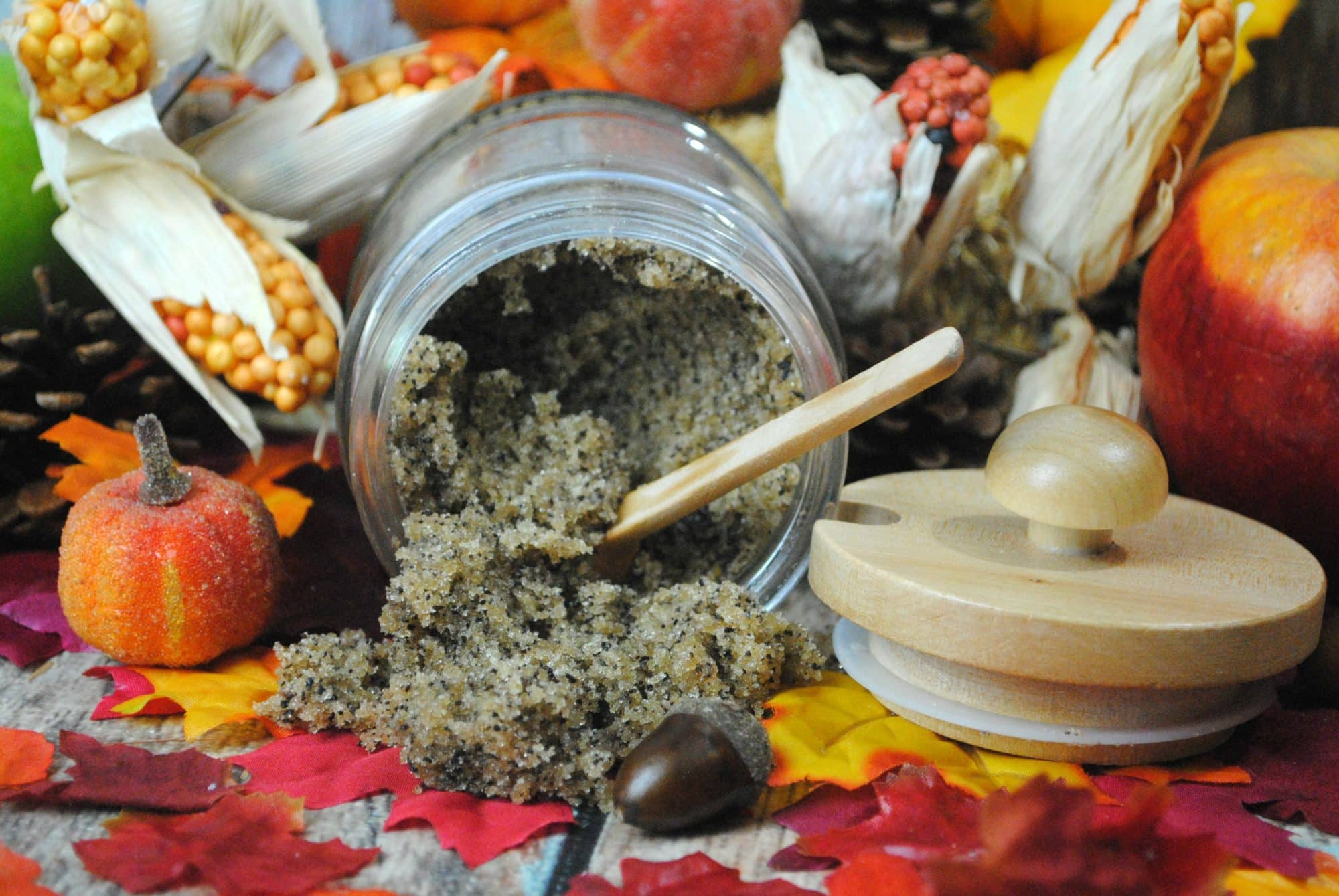 DIY beauty products - Cinnamon Chai Scrub