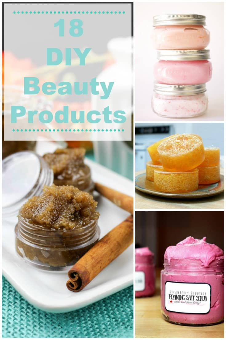 DIY beauty products for homemade gifts