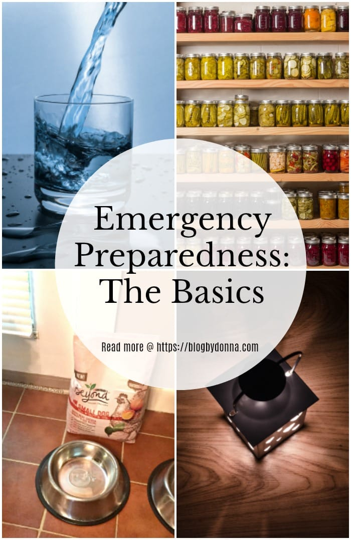 Emergency preparedness - The basics...