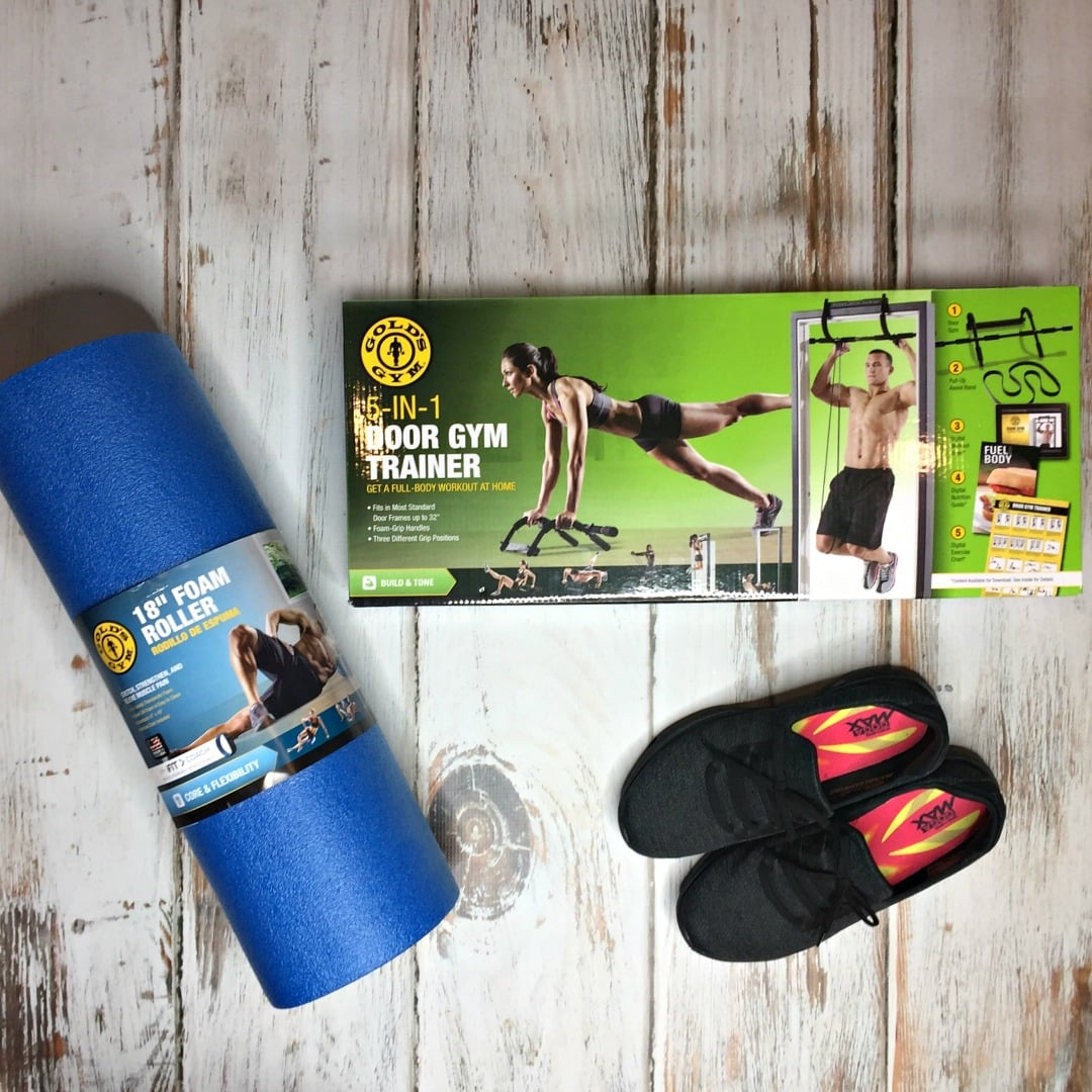 How to make your new year resolutions stick with Gold's Gym ftness equipment from Walmart