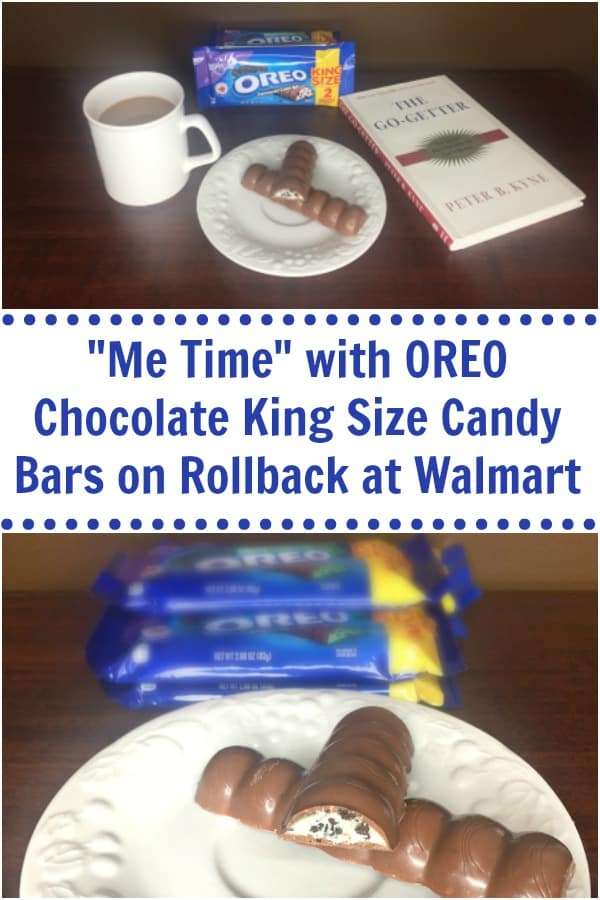 me time with OREO chocolate king size candy bars
